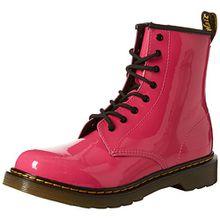 Dr. Martens Unisex-Kinder 1460 Y Klassische Stiefel, Pink (Hot Pink 670), 38 EU