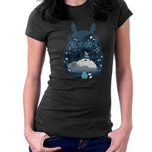 My Neighbor Totoro Night Montage Women's T-Shirt
