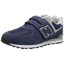 New Balance Unisex-Kinder Iv574v1 Sneaker, Blau, 23.5 EU