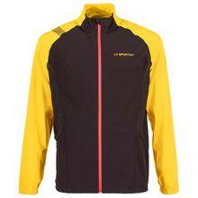 La Sportiva - Levante Jacket - Laufjacke Gr L;M;S;XL;XXL schwarz/orange;blau