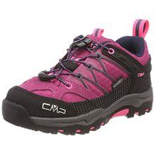 CMP Unisex-Kinder Rigel Trekking-& Wanderhalbschuhe, Pink (Pink Fluo-Asphalt), 37 EU
