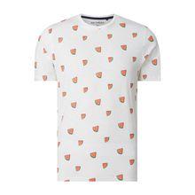 Regular Fit T-Shirt aus Slub Jersey Modell 'Sky'