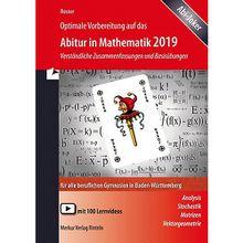 Buch - Optimale Vorbereitung auf das Abitur in Mathematik 2019