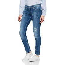 Pepe Jeans London Damen Jeans Joey, Blau-Denim (RB5), W29/L30