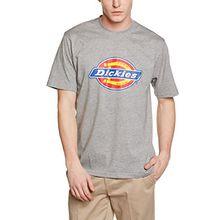 Dickies Herren T-Shirt Horseshoe Tee Men, Gr. X-Small, Grau (Grey Melange GYM)