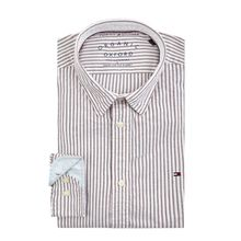 Regular Fit Freizeithemd aus Organic Cotton
