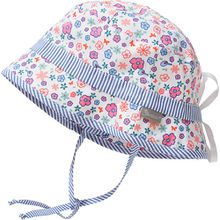 Hut zum Binden mit UV-Schutz 15+  mehrfarbig Mädchen Kleinkinder