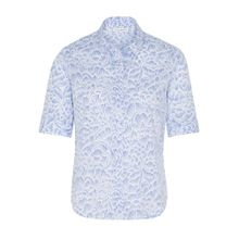 ETERNA Bluse himmelblau / weiß