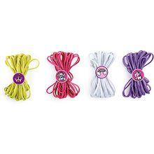 Gummitwist Mädchentraum, 4 Stück mehrfarbig