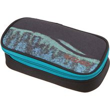 Etuibox WIZZARD blue pile schwarz/petrol