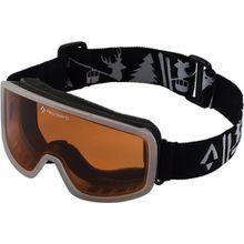 Skibrille Mistral, schwarz