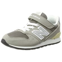 New Balance Unisex-Kinder Sneaker, Grau (Heather Grey), 33.5 EU (1.5 UK)
