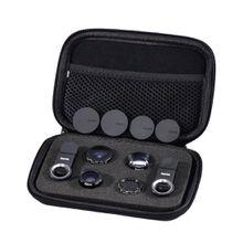 Hama 5in1-Objektiv-Set Uni, MC, für Smartphones und Tablets