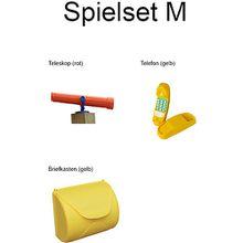 Spielset M holzfarben