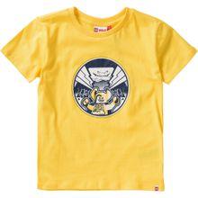 LEGO WEAR T-Shirt 'Nexo Knights' nachtblau / gelb / weiß
