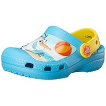 crocs Creative Olaf Clog, Unisex - Kinder Clogs, Blau (Electric Blue), 32/33 EU
