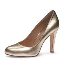 EVITA Damen Pumps CRISTINA Klassische Pumps gold Damen