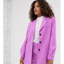ASOS DESIGN Tall - Dad - Oversized-Blazer in Flieder - Violett