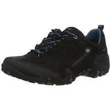 Allrounder by Mephisto Fina-Tex Rubber 1/G.Nubuk 84, Damen Sneakers, Schwarz (Black/Black), 41.5 EU (7.5 Damen UK)