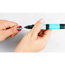 Creative Nails Lackstift, 2er Set  Farben á 5ml, schwarz / weiss