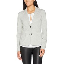 Marc O'Polo Damen Blazer 706301158011, Grau (Light Stone Melange 934), 44