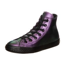 CONVERSE Chuck Taylor All Star Iridescent High Sneaker Kinder lila