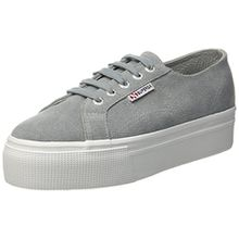 Superga Damen 2790-Suew Sneaker, Grau (Lt Grey 506), 39 EU