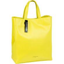 Liebeskind Berlin Handtasche Paper Bag Tote M Yellow Sheen