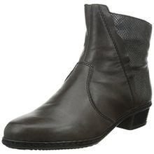 Rieker Y0769, Damen Kurzschaft Stiefel, Braun (graphit/stromboli/45), 39 EU (6 Damen UK)