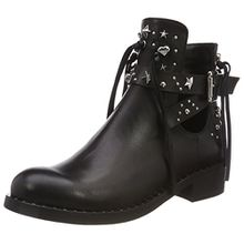 Marc Cain Damen JB SB.26 L29 Chelsea Boots, Mehrfarbig (Black), 36 EU