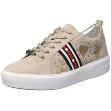 Bugatti Damen 422407013419 Sneaker, Grau (Light Grey/Metallics 1290), 36 EU