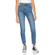 Tally Weijl Damen Skinny Jeans Spademomslm, Blau (Denim Blue Ehum), 40