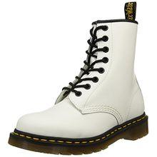 Dr. Martens 1460 Smooth, Unisex-Erwachsene Combat Boots, Weiß (1460 Smooth 59 Last WHITE), 38 EU