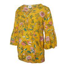 MAMALICIOUS Blumenprint Umstandstop gelb