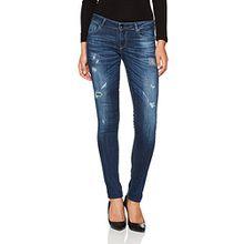 Guess Damen Slim Jeans Starlet, Mehrfarbig (Rebel/Rebel), 40 (Herstellergröße: 27)