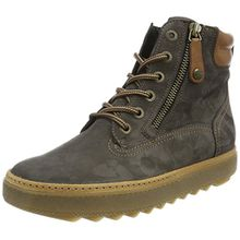 Paul Green Ankle Boots, Damen High-Top, Schwarz (Black), 40.5 EU (7 UK)