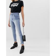 Levi's - Mile High - Extrem enge Jeans - Blau