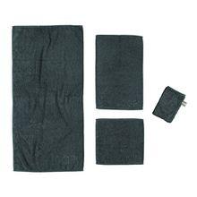JOOP! UNI Duschtuch 80x150 cm Artikel 1500-901 schwarz kuschelig weich saugstark ...