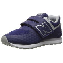 New Balance 574 Velcro, Unisex-Kinder Sneakers, Blau (Aqua Foam), 32 EU (13 UK)