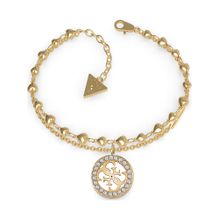 GUESS Armband gold / weiß