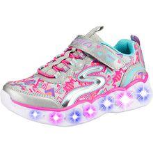 Sneakers low Blinkies HEART LIGHTS  silber Mädchen Kinder