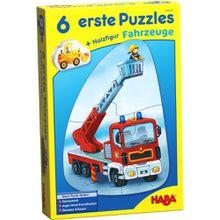Haba 6 erste Puzzles - Fahrzeuge