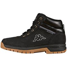 Kappa BRIGHT MID TEENS, Unisex-Kinder Kurzschaft Stiefel, Schwarz (1111 black), 36 EU (3.5 Kinder UK)