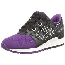 Asics Gel-Lyte Iii, Unisex-Erwachsene Sneakers, Violett (Purple/Black 3390), 44 EU (10 UK)