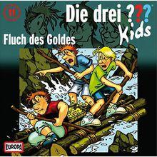 CD Die drei ??? Kids 11 - Fluch des Goldes Hörbuch