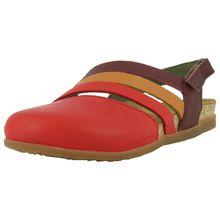 EL NATURALISTA Komfort-Sandalen rot-kombi Damen
