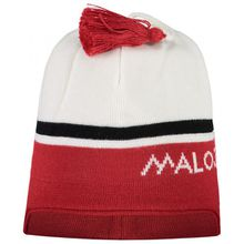 Maloja - CirstofflM. - Mütze Gr One Size rot/weiß