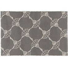 JOOP! Badteppich Cornflower Allover | 1108 graphit - 60 x 90