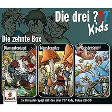 CD Die Drei ??? Kids 10 - 3er Box (Folgen 28-30) Hörbuch