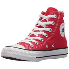 Converse Chuck Taylor All Star, Unisex-Kinder Hohe Sneakers, Rot (Red), 32 EU